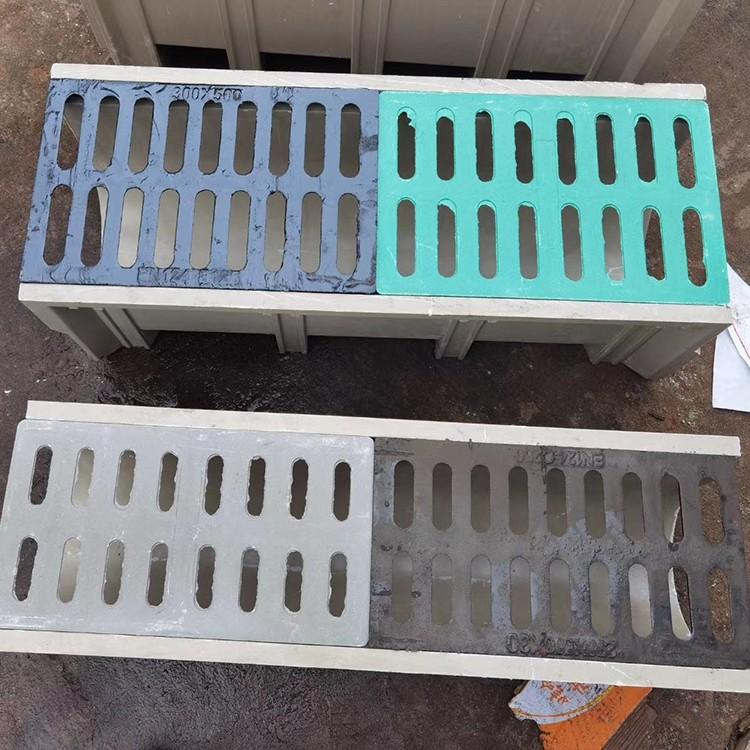 定制树脂线性排水沟 成品树脂缝隙式排水沟 配套沟盖板 U型槽盖板成品排水沟生产厂家