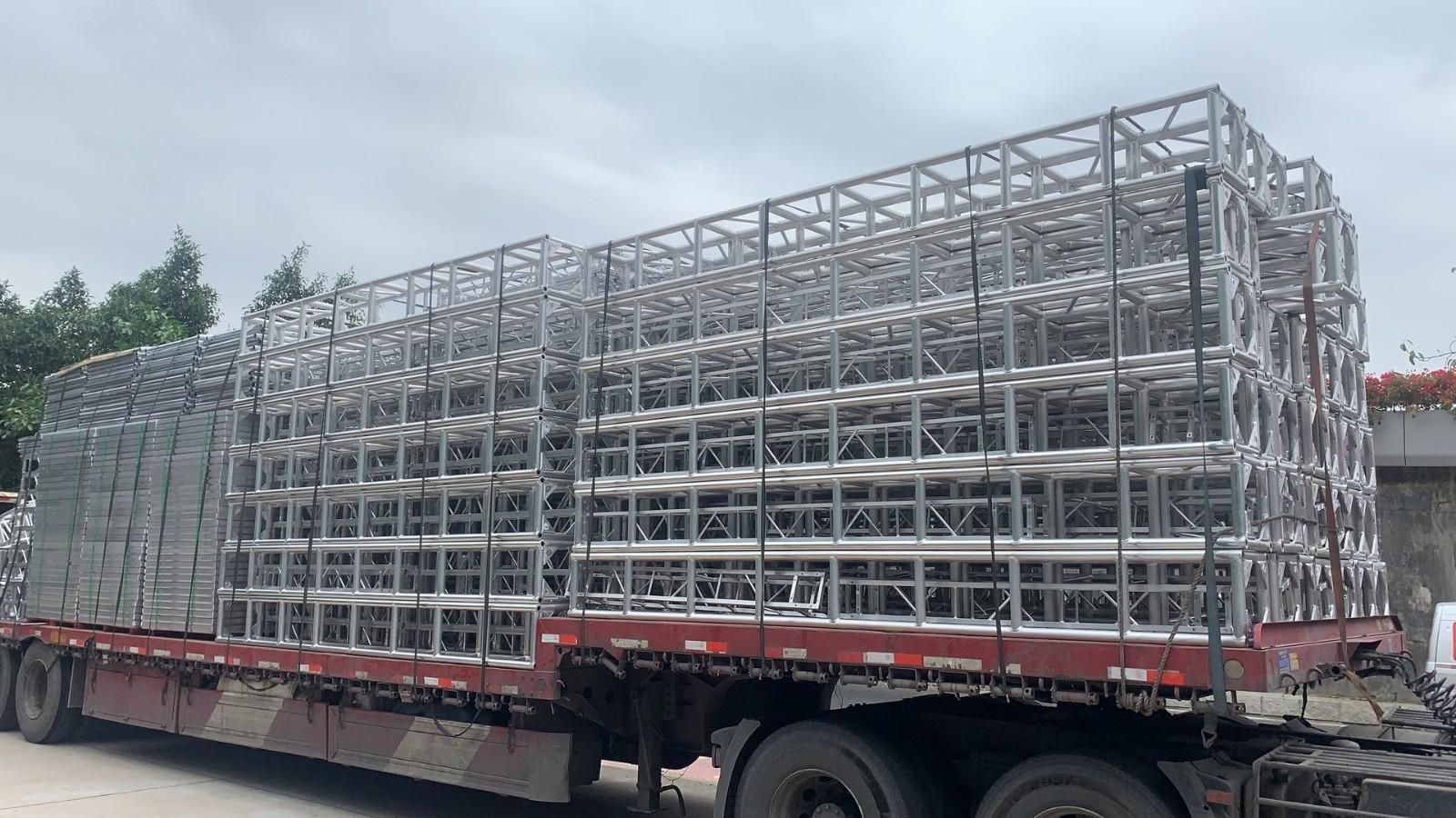 泉州桁架批发 定做舞台桁架 太空架出售 定制太空架 七天舞台厂家批发 厂家直销