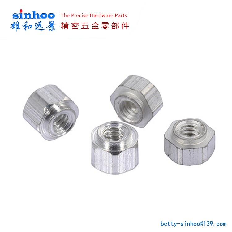 SMT贴片螺母 SMTSO-M1.2/M1.4/M1.6主板螺母  精密焊锡螺母
