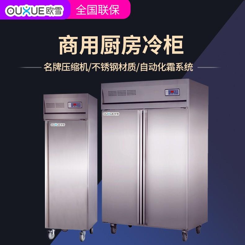 爆款立式厨房冷藏柜 食品菜品不锈钢保鲜柜定做工厂