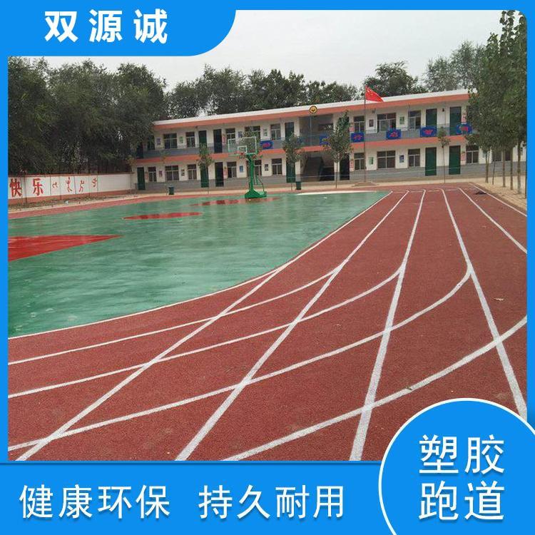 广东厂家直销 透气型塑胶跑道 混合型塑胶跑道 惠州塑胶跑道施工 双源诚 操场跑道,
