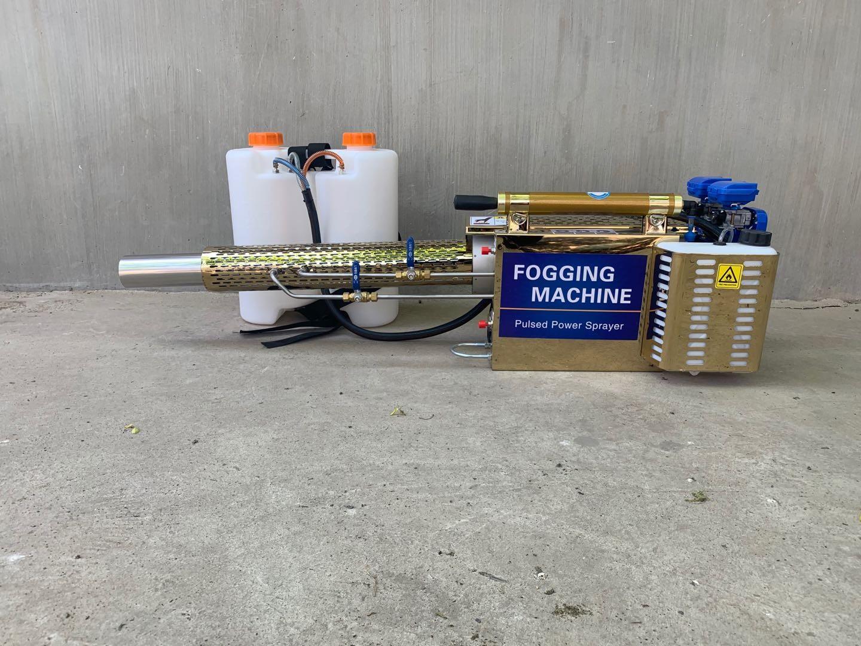 汽油手提脉冲式打药烟雾机图片农用烟雾机 大棚果树杀虫打药机 背负式烟雾机