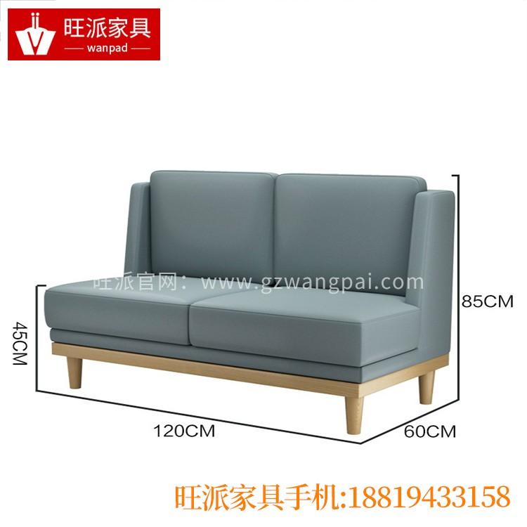 曲靖单面靠墙饺子馆饭店家具卡座沙发餐桌椅厂家