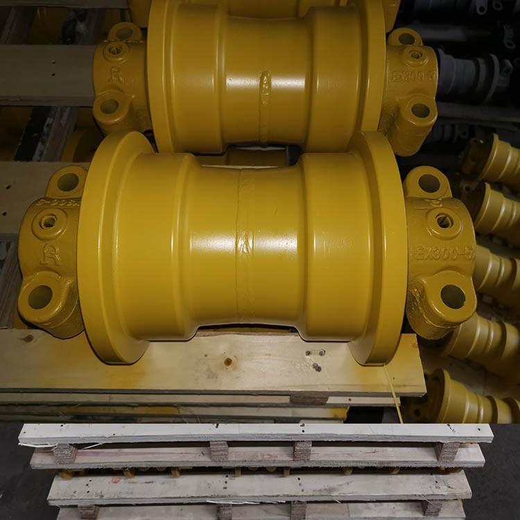 日立ZAX350-1支重轮 日立支重轮 承重轮 滚轮 日立四轮一带 日立底盘配件