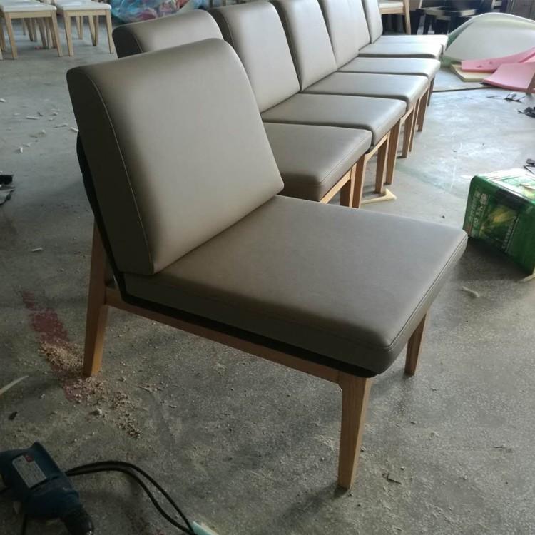 咖啡厅实木休闲椅定做 实木休闲椅批发 实木休闲椅定制厂家-深圳聚焦美家具