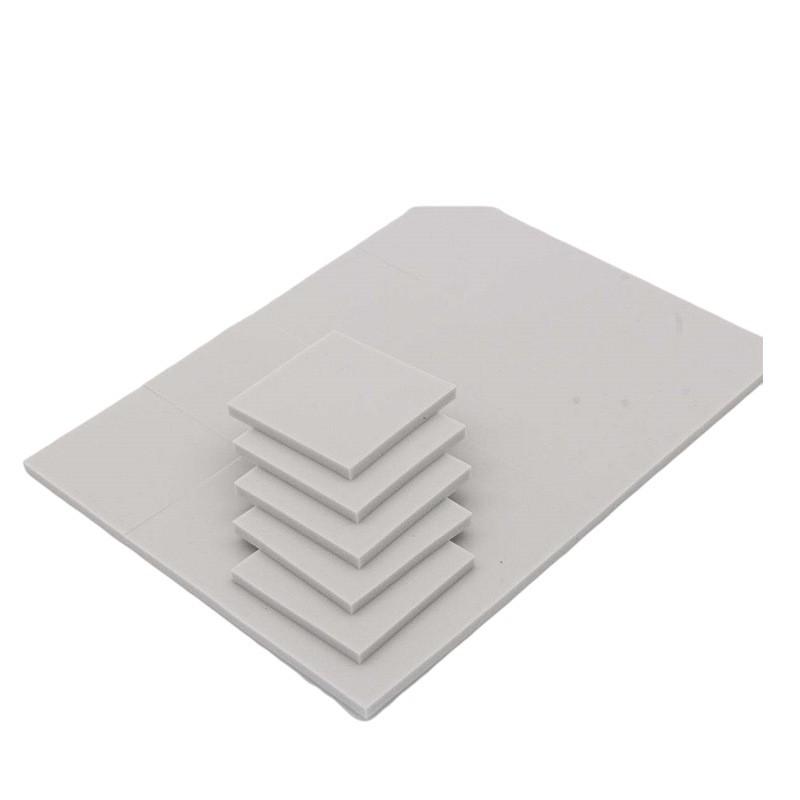 广州厂家批发生产导热绝缘散热硅胶片 灰白色导热硅胶垫片