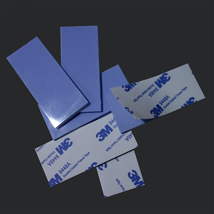 背胶导热硅胶片 软性硅胶片 低比重导热矽胶片 高韧性导热垫片