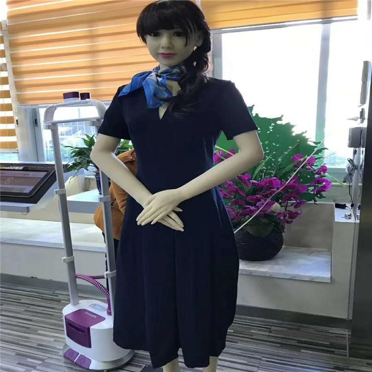 仿真人形美女迎宾机器人 企业展厅展会展馆服务机器人 房地产售楼商务迎宾机器人 婚庆晚会礼仪机器人