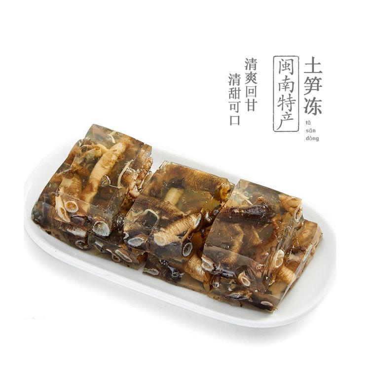 长虎土笋冻 圆粒土笋冻 闽南安海特产