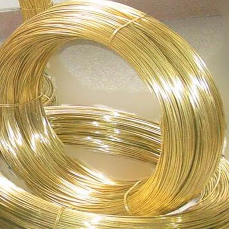 光亮H70黄铜线厂家 进口C2700黄铜线 耐腐蚀C2680黄铜线批发