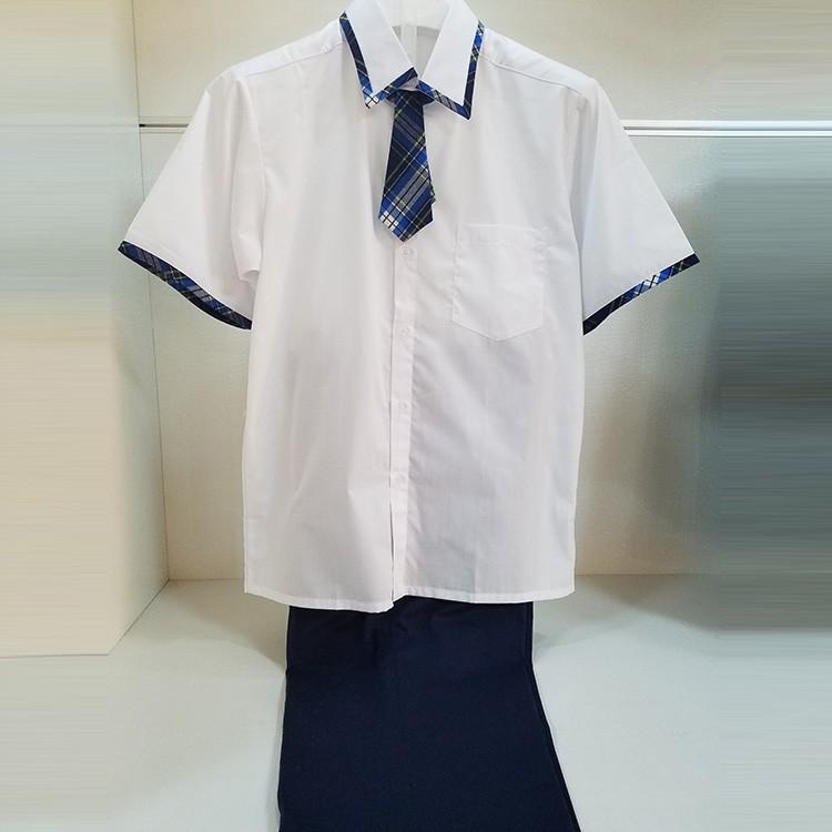 福建校服厂家 夏季学生校服定制团服班服一件可发 量大优惠 梦织