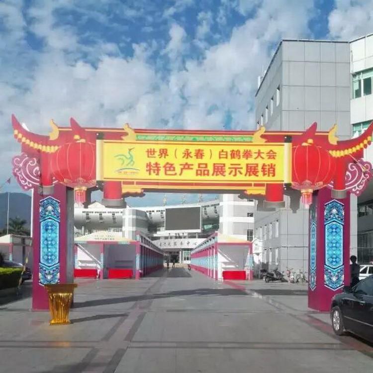 晋江龙门架出售  户外活动舞台架 可提供定做龙门架 七天金属