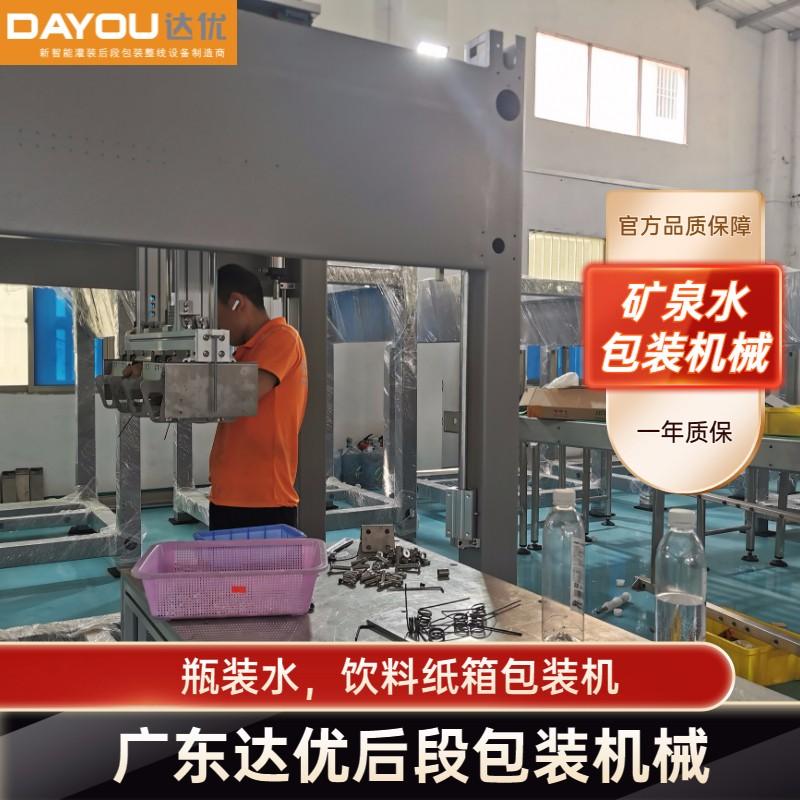 广东达优 装箱机报价 矿泉水包装机视频