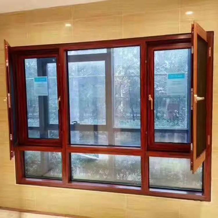 上门测量 铝合金开窗纱一体门窗 开窗纱 一体门窗 铝合金门窗