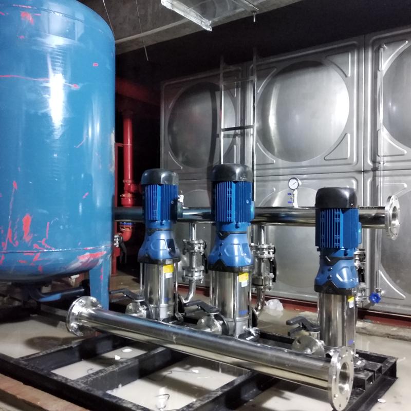 恒压供水+水箱机组 (4)