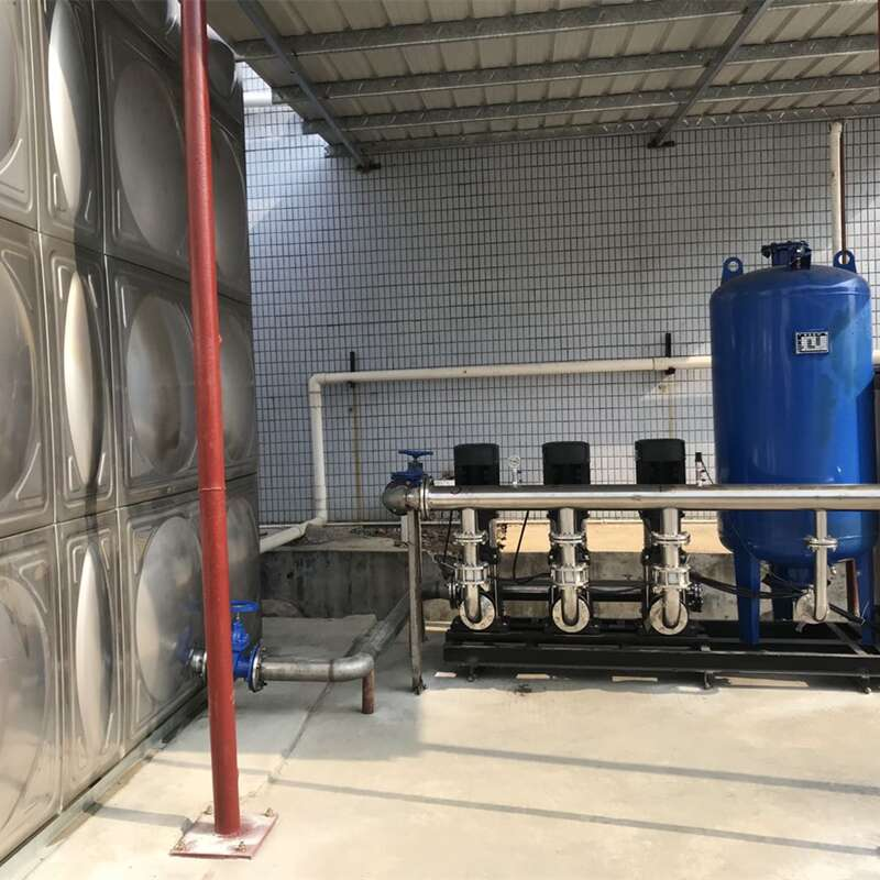 恒压供水+水箱机组 (3)