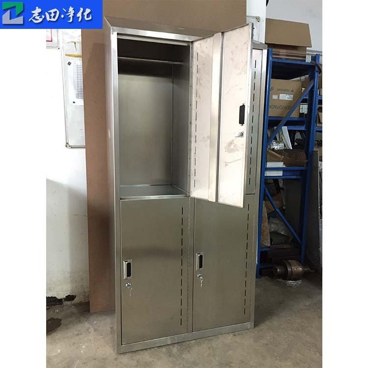 供应更衣柜 四门更衣柜 可定制不锈钢更衣柜