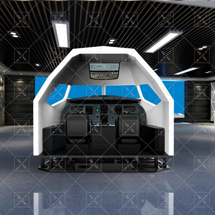 飞行模拟器 动感飞行模拟器 来图定做A320飞行模拟器