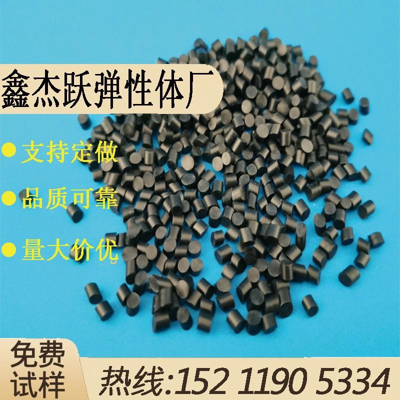 TPE黑色料 包胶五金配件阻燃爽滑挤出级黑色 工厂供应TPE黑色包胶