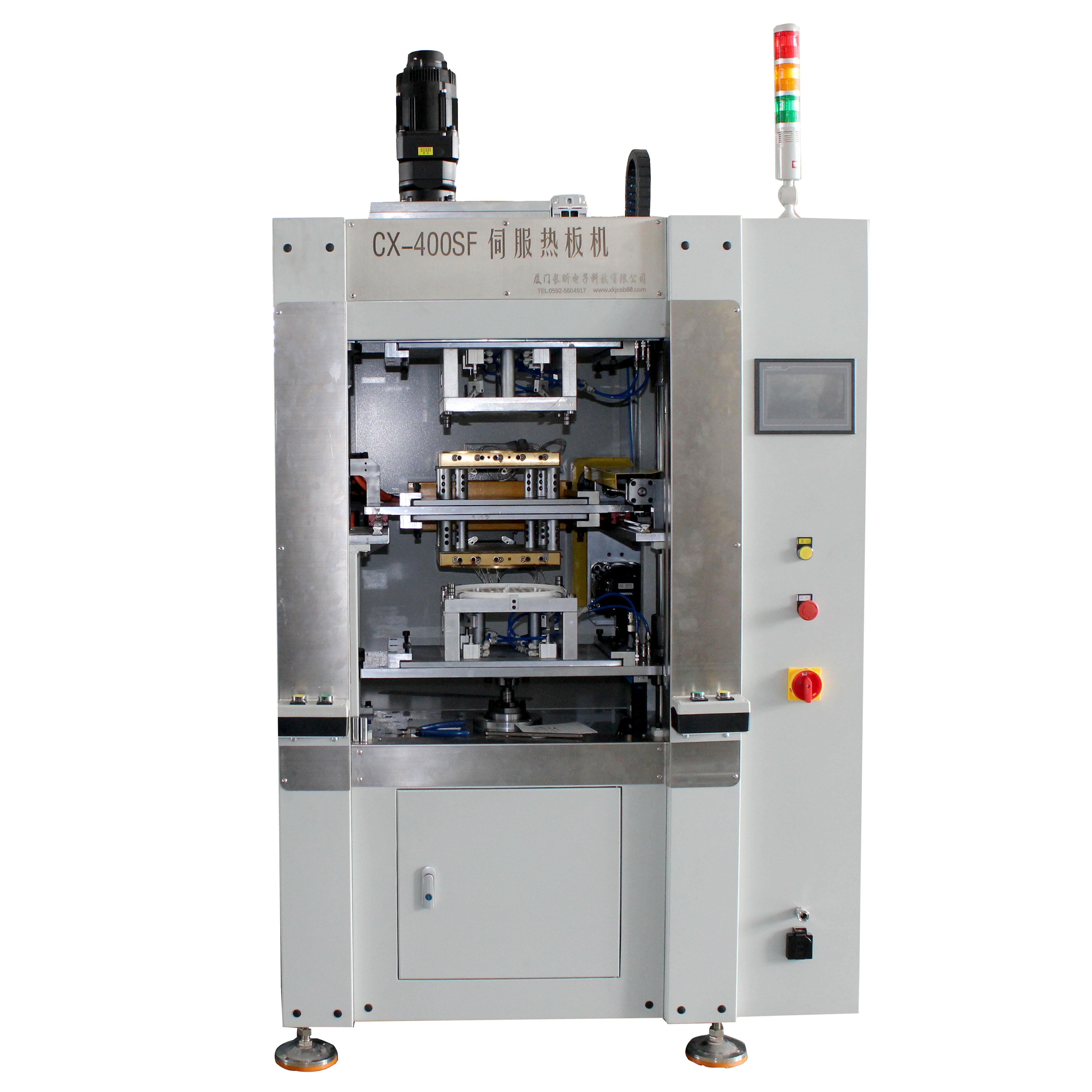 J400SF伺服热板机