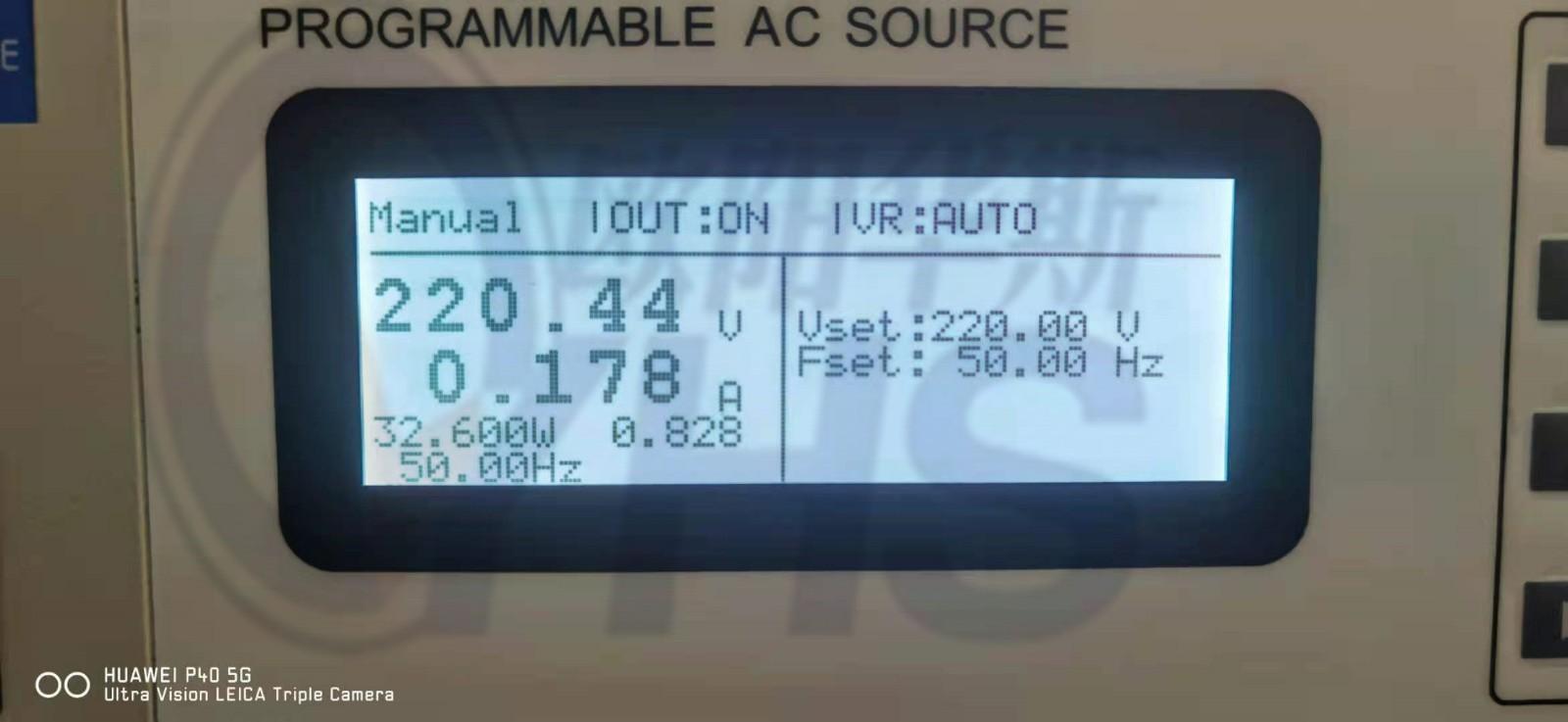 高精度可编程变频电源|0-300V可调|50HZ/60HZ可使用|RS485串口链接|