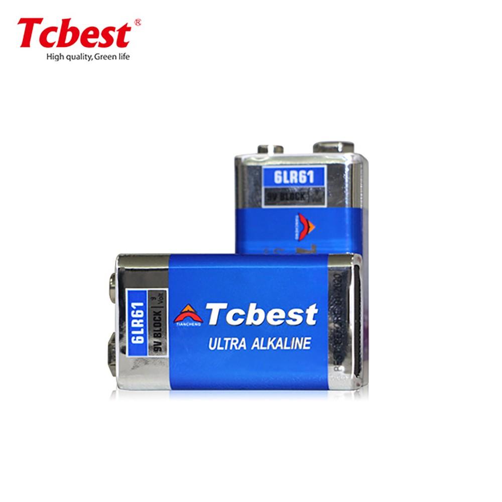 热销 6LR61 9V电池 TCBEST碱性批发 万用表精密仪器用 超长寿命