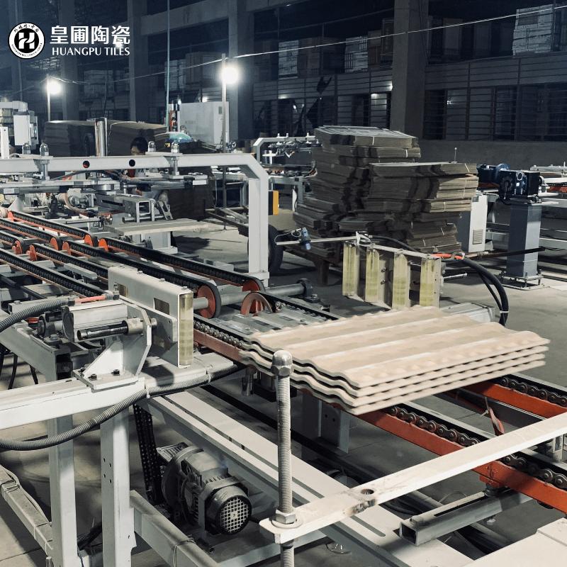 <p>瓷砖生产线</p>