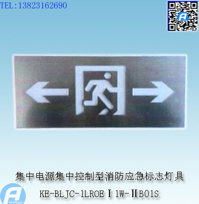 KE-BLJC-1LROEⅠ1W-ⅡB01S集中电源集中控制型消防应急标志灯具1