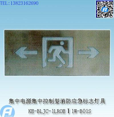KE-BLJC-1LROEⅠ1W-B01S集中电源集中控制型消防应急标志灯具1