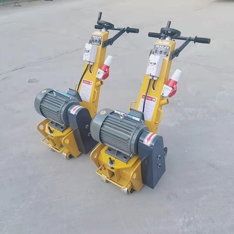 水泥地面洗刨机 混凝土路面小型铣刨机 手扶式电动拉毛机